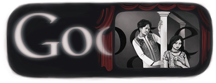 Google Logo: 80th anniversary of the movie Alam Ara, the first Indian movie with sound