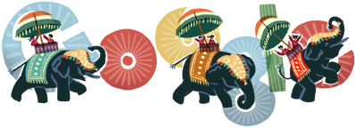 Google Logo: Republic Day of India - 2012