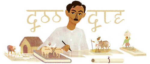 Munshi Premchand's 136th birthday