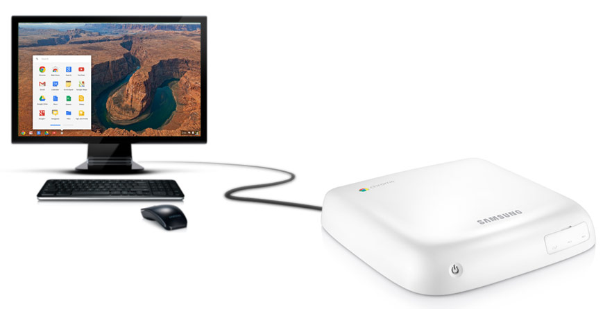 HP Chromebook 14 and Samsung Chromebox Overview 2