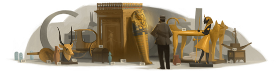 Howard Carter's 138th birthday