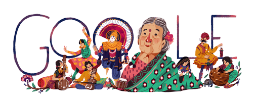 Kamaladevi Chattopadhyay's 115th birthday