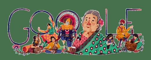 Kamaladevi Chattopadhyay's 115th birthday