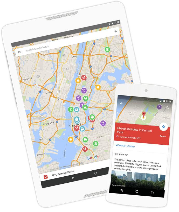 Мої карти - Про сайт - Карти Google