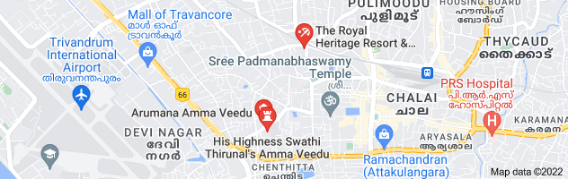 Map of ammachi veedu trivandrum