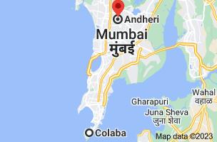 Map from Colaba, Mumbai, Maharashtra to Andheri, Maharashtra 400047