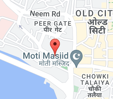Map of Shaukat Mahal
